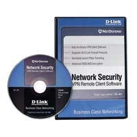 NetDefend VPN Client Software, 1-User License Windows 2000/XP