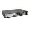 Managed 24-Port 10/100 Stackable L2 PoE Switch, 4 Gigabit Copper Ports + 2 Combo SFP