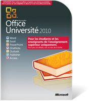 Microsoft Office Université 2010